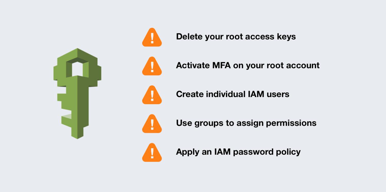 '아마존 웹 서비스 계정 생성 후 해야하는 IAM 보안 조치: 루트 사용자와 IAM 사용자의 차이' 대표 이미지